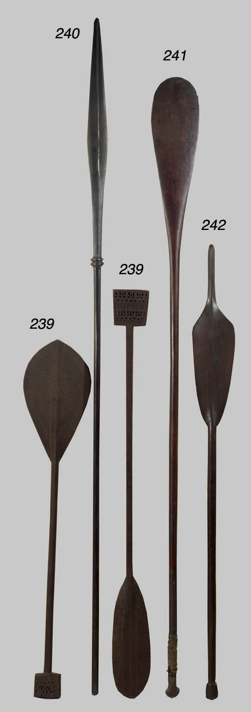 A MARQUESAS ISLANDS PADDLE