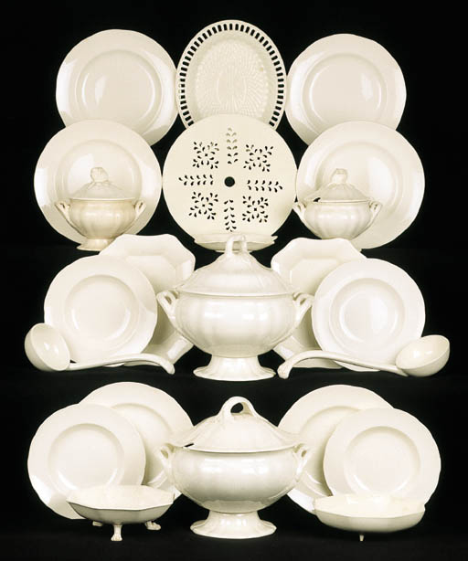 A very extensive Wedgwood crea