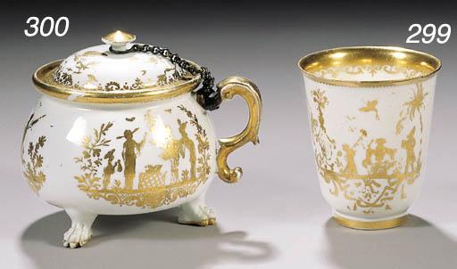 An early Meissen goldchinesen