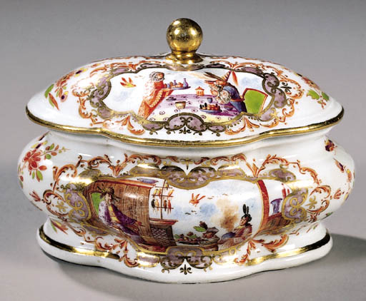 An early Meissen chinoiserie s