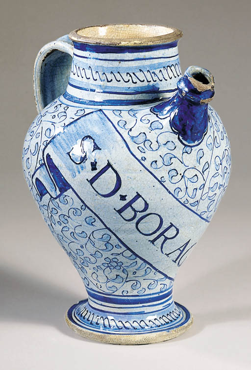A rare and early Antwerp maiol
