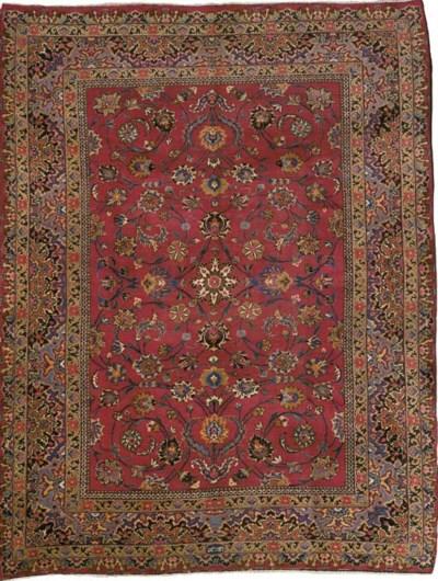 A fine 'Musavi' Meshed carpet