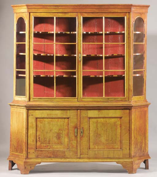 An Anglo-Dutch display-cabinet