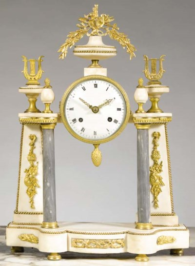 A Louis XVI ormolu-mounted whi