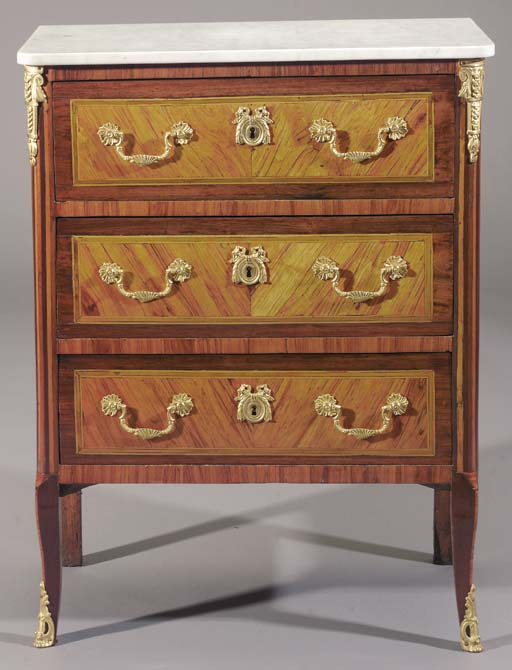 A Louis XVI ormolu-mounted kin