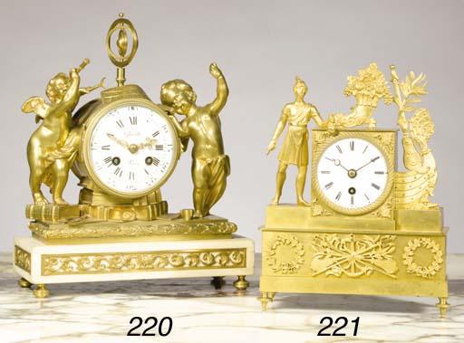 A French ormolu timepiece