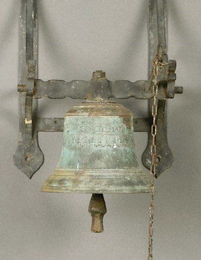 A Dutch Bronze bell