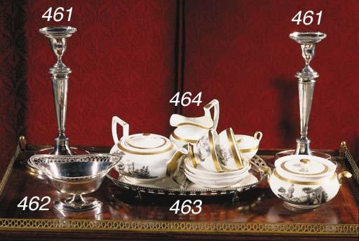 A Paris porcelain composite co