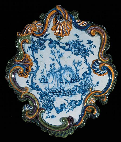 A Dutch Delft mixed technique