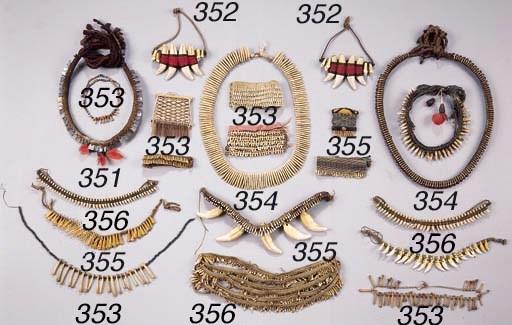 NINE AMAZONIAN ARTEFACTS