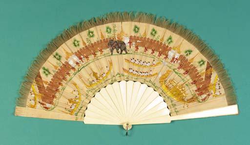 A Burmese fan