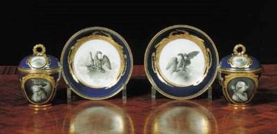 A pair of Meissen Marcolini da