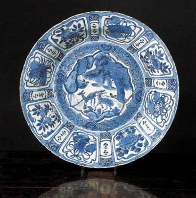 A Chinese 'kraak porselein' ch
