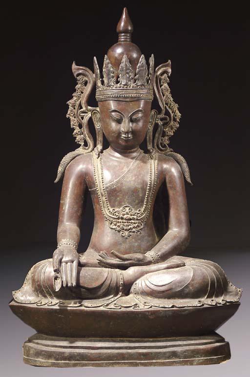 a monumental burmese, shan sty