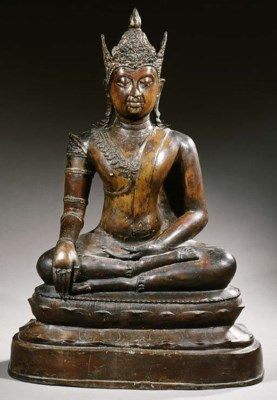 a thai, chienseng style, bronz