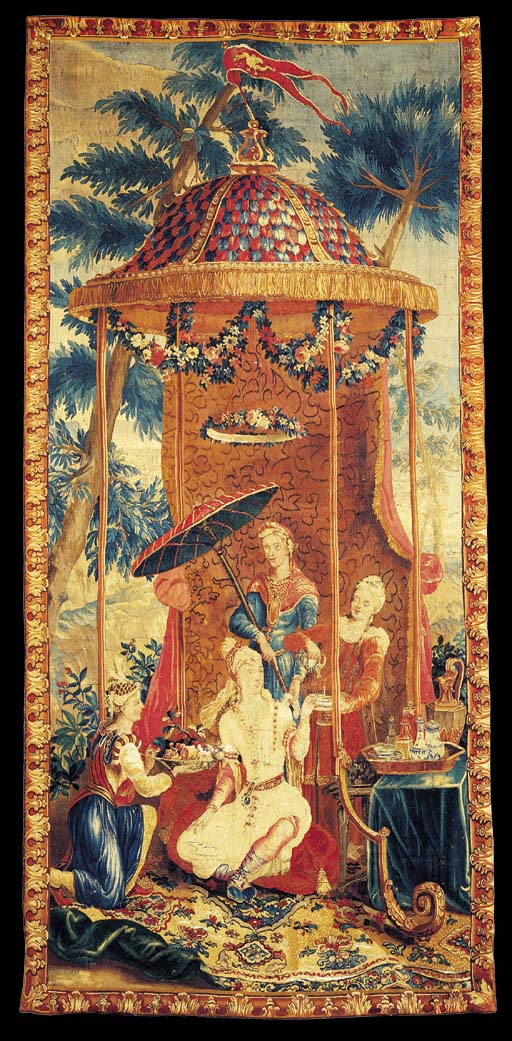 A REGENCE BEAUVAIS CHINOISERIE
