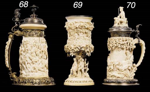 A German ivory cup