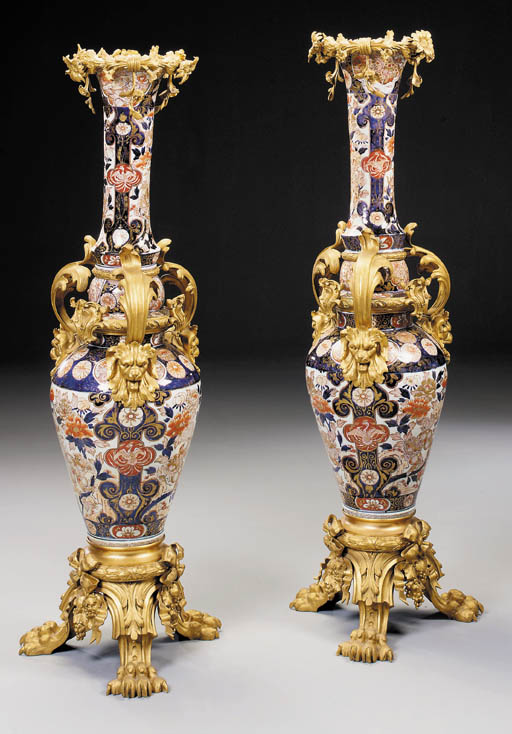 A pair of large Napoleon III o