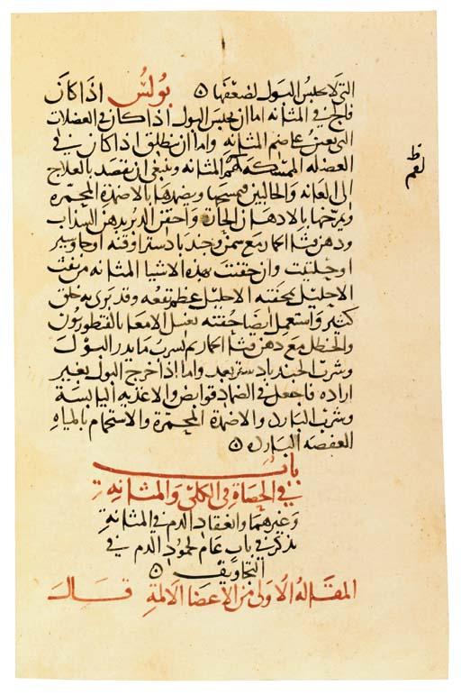 ABU BAKR IBN ZAKARIA AL-RAZI (
