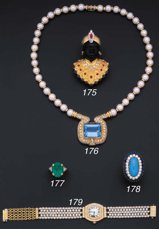 A modern diamond and cultured
