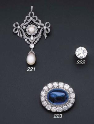A Belle Epoque diamond and pea