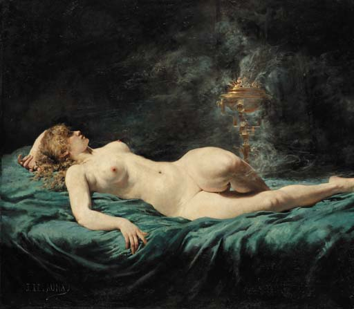 Jules-Elie Delaunay (French, 1