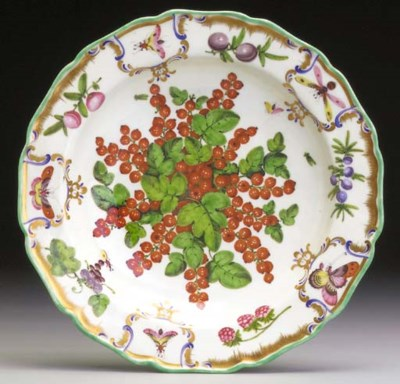 A Worcester deep plate from th
