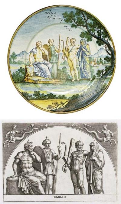 A Siena plate