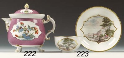 A Meissen kakiemon powdered-li