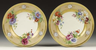 A pair of Vienna plates from t