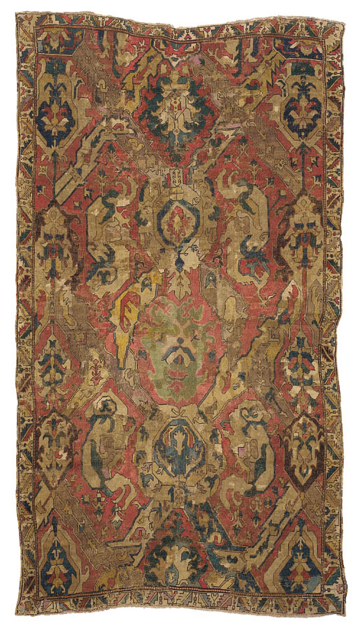 A CAUCASIAN DRAGON CARPET