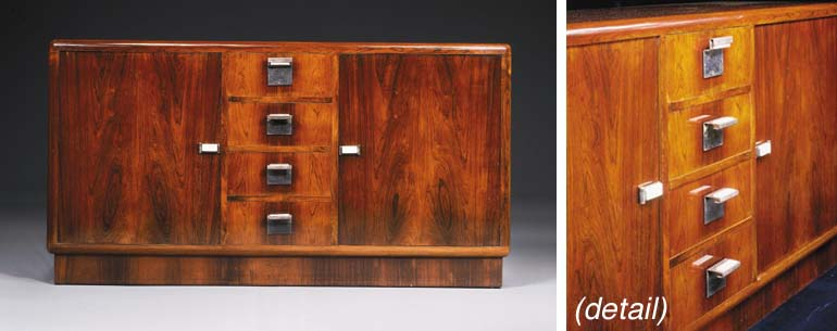 A Rosewood Cabinet