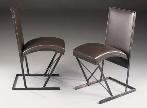 'MC767', A Pair of Leather and