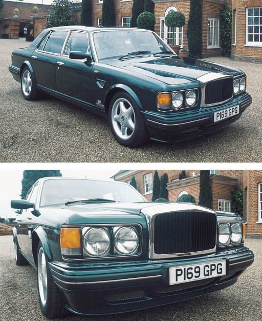 1997 BENTLEY TURBO R 400 FOUR DOOR SALOON