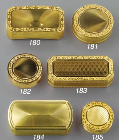 A FRENCH GOLD BOÎTE-À-SECRET