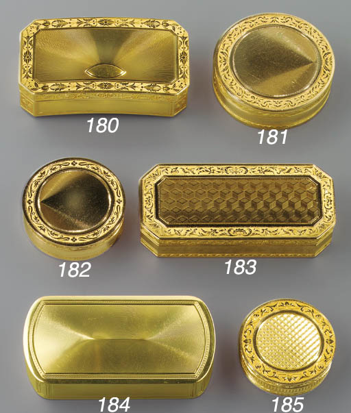 A SWISS GOLD SNUFF-BOX