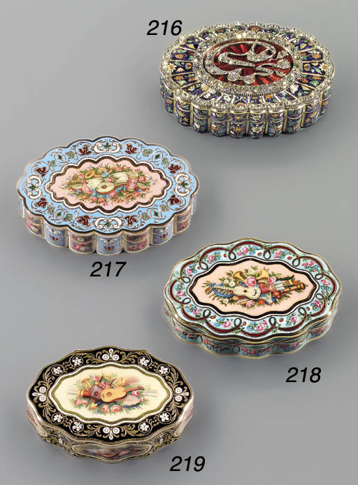A LOUIS-PHILIPPE JEWELLED AND
