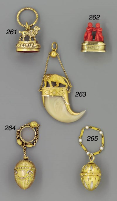 A George IV carnelian-set gold