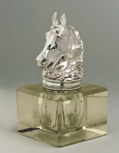 A Continental silver-mounted g