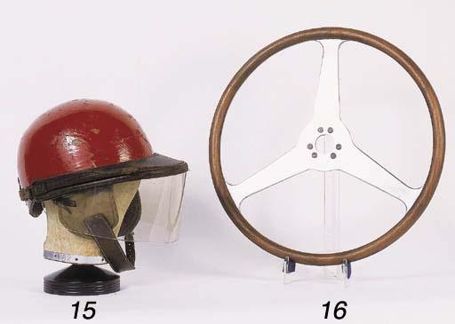An original racing helmet by H