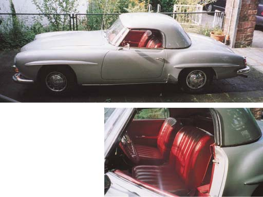 1958 MERCEDES-BENZ 190SL ROADS