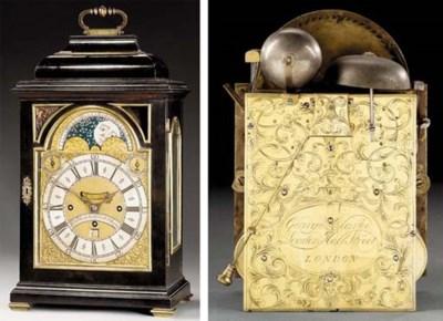 A George II ebony and brass-mo