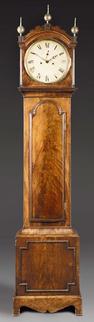 A George IV mahogany longcase