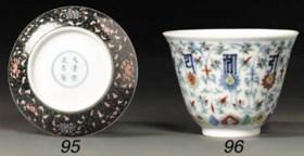 a fine chenghua-style doucai cup
