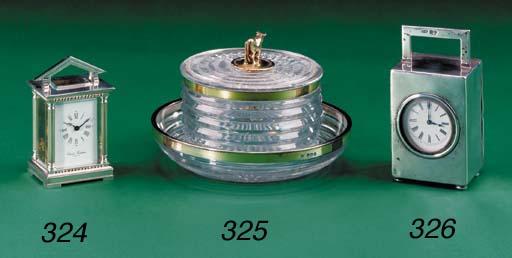 A George III silver-gilt mount
