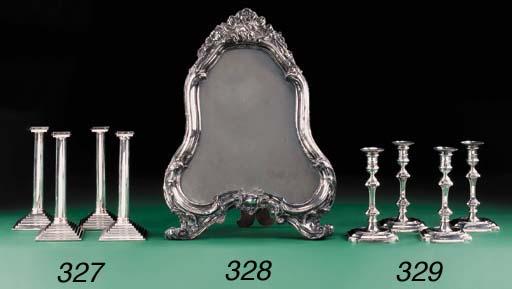 A set of four modern silver ca