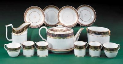A Coalport (John Rose) part te