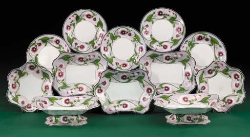 A Wedgwood pearlware botanical