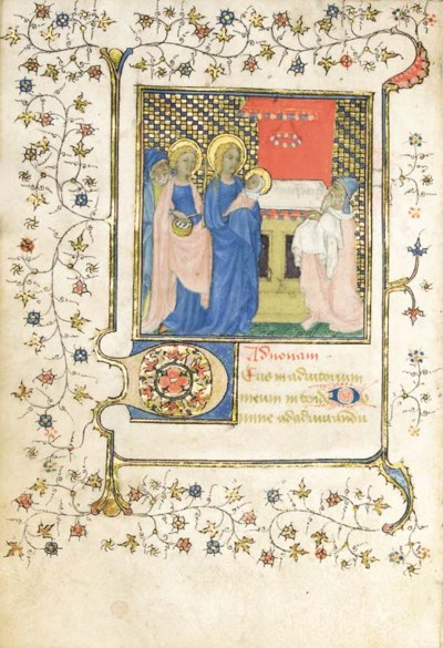 BOOK OF HOURS, use of Poitiers
