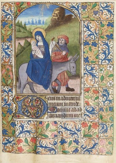 BOOK OF HOURS, use of Rouen, i